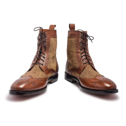 Derby Leather Boots