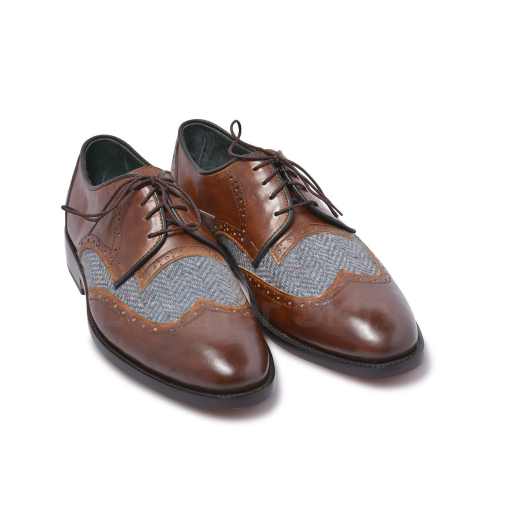 derby genuine leather shoes mens