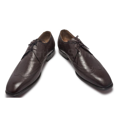 Men Derby Leather Shoes