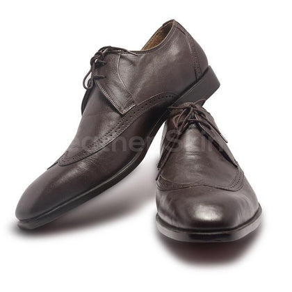 Derby Shoes in Brown Color for Men