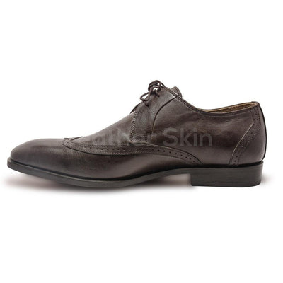 Men Shoes with Brogue Derby Style