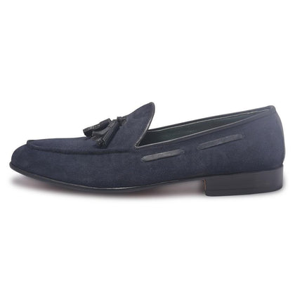 blue suede shoes for men