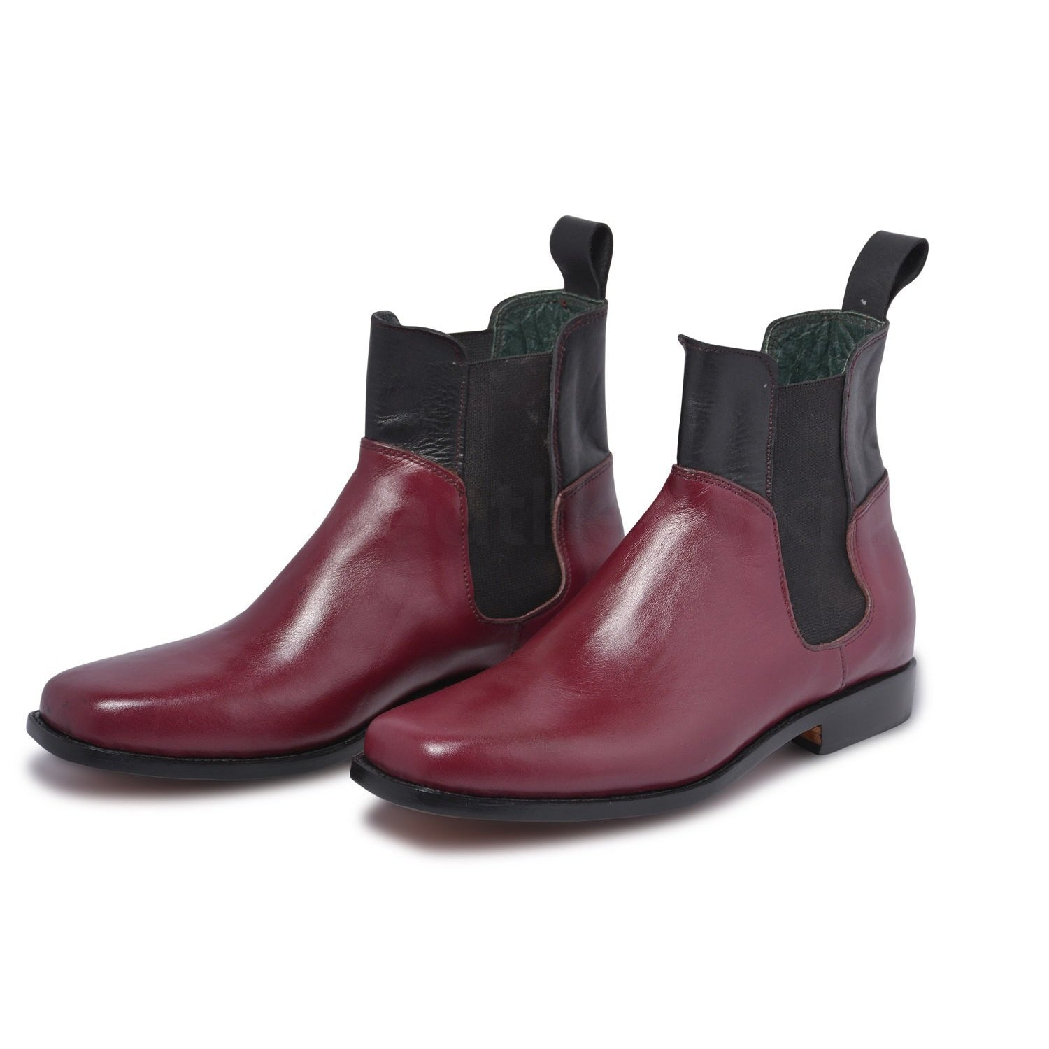red Chelsea boots mens