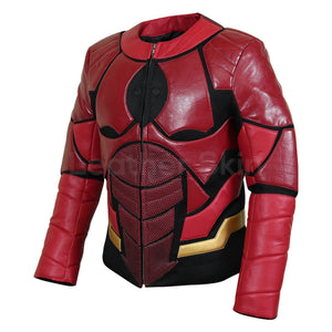 iron man leather jacket mens