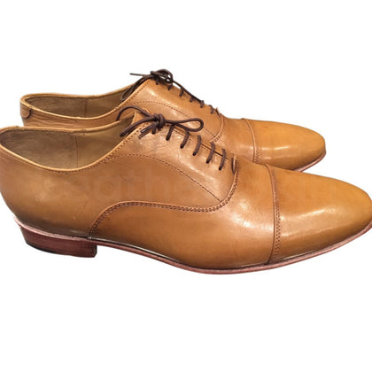Light Brown Leather Shoes