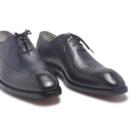Men Navy Blue Shoes