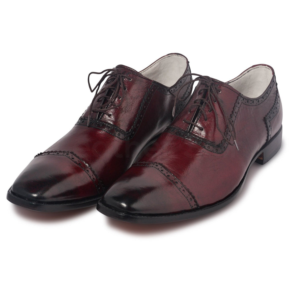 glossy shoes mens red