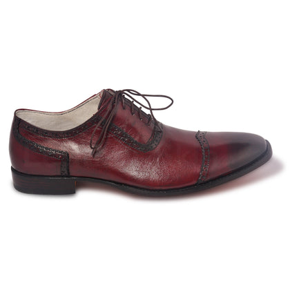 two tone red shoes mens oxford