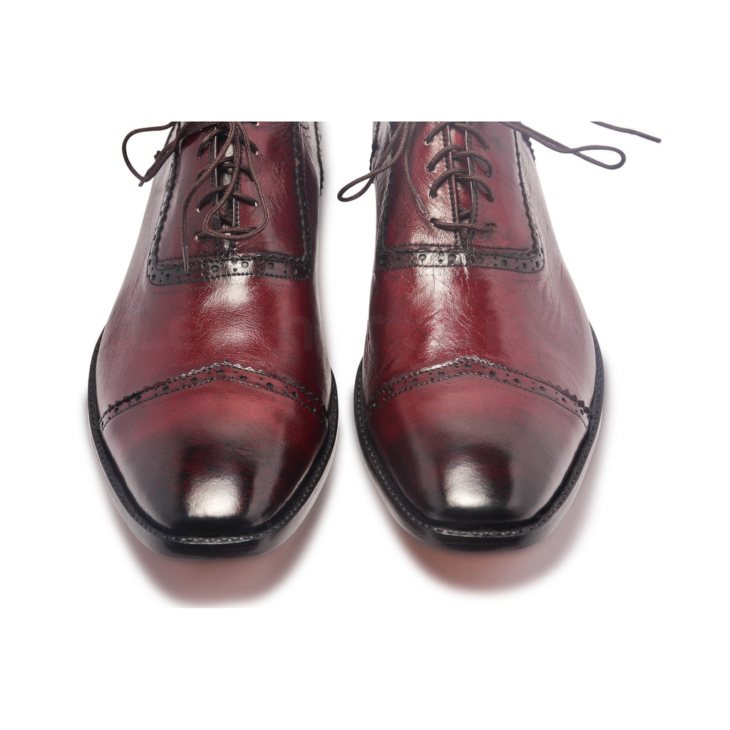 mens glosssy oxford genuine leather shoes