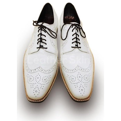 men white leather shoes