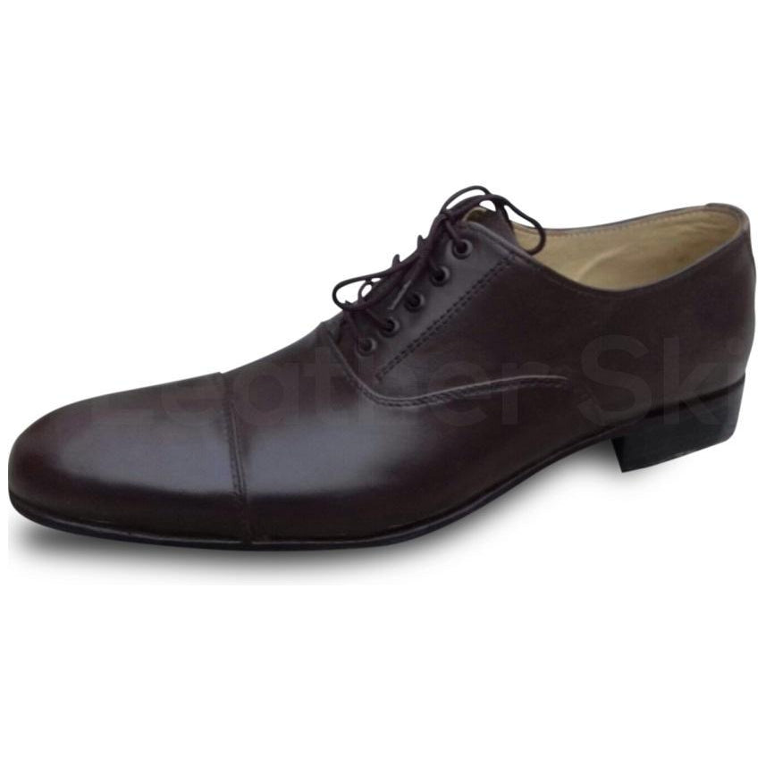 oxford black leather shoes