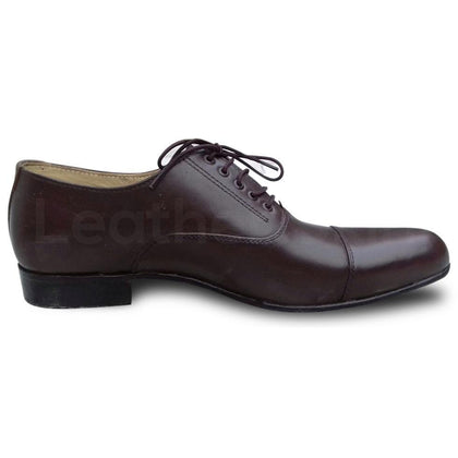men oxford black shoes