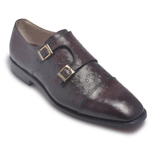 two tone monk strap shoes
