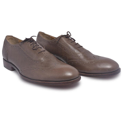 Men Wingtip Leather Shoes