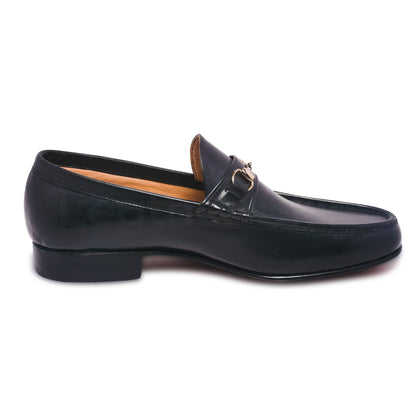 mens slip on genuine leather shoes