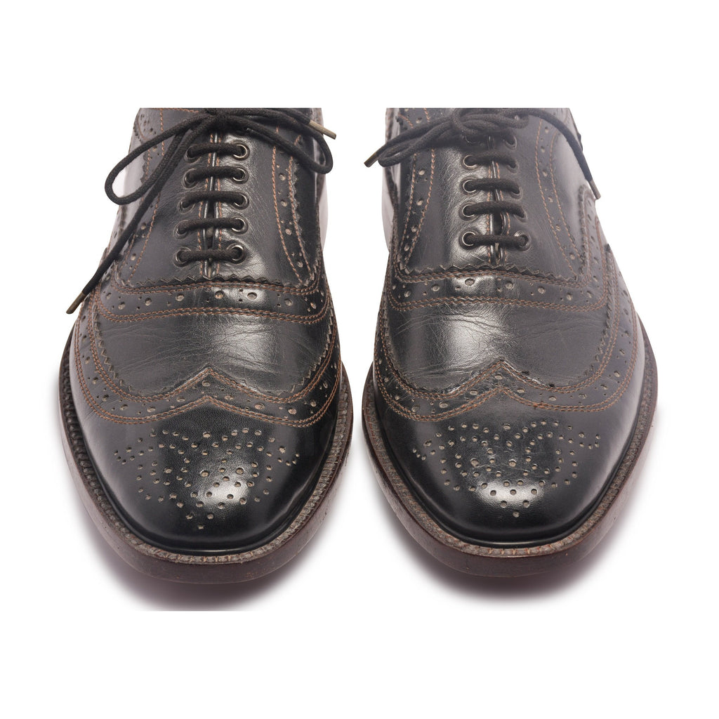 wingtip toe for oxford brogue shoes