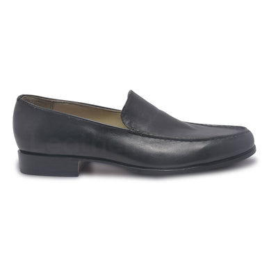 mens black genuine leather shoes