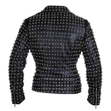 jacket with studs on back ladies