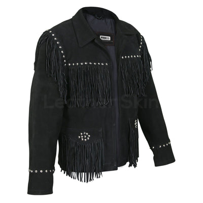 women black spike leather jacket
