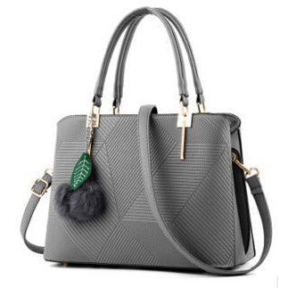 Women Grey Tote Cross-Body Handbag