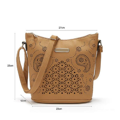 Women Yellow Hobo Tote Shoulder Handbag with Beautiful Artwork Dimensions