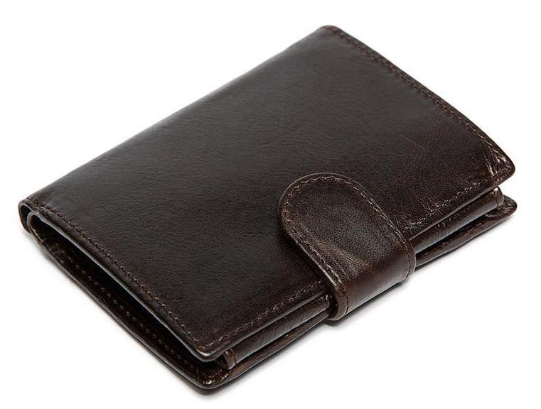 Men Vintage Style Genuine and Naturally Derived Cowhide Leather Wallet