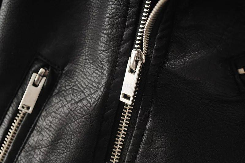 High Quality Zippers for Black Leather Jacket