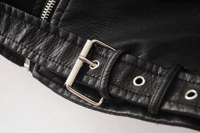 Belt for Black Leather Jacket