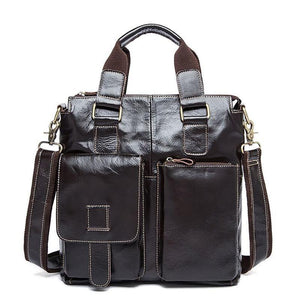 High Quality Leather Tote Shoulder Business Bag for Any Formal Occasion