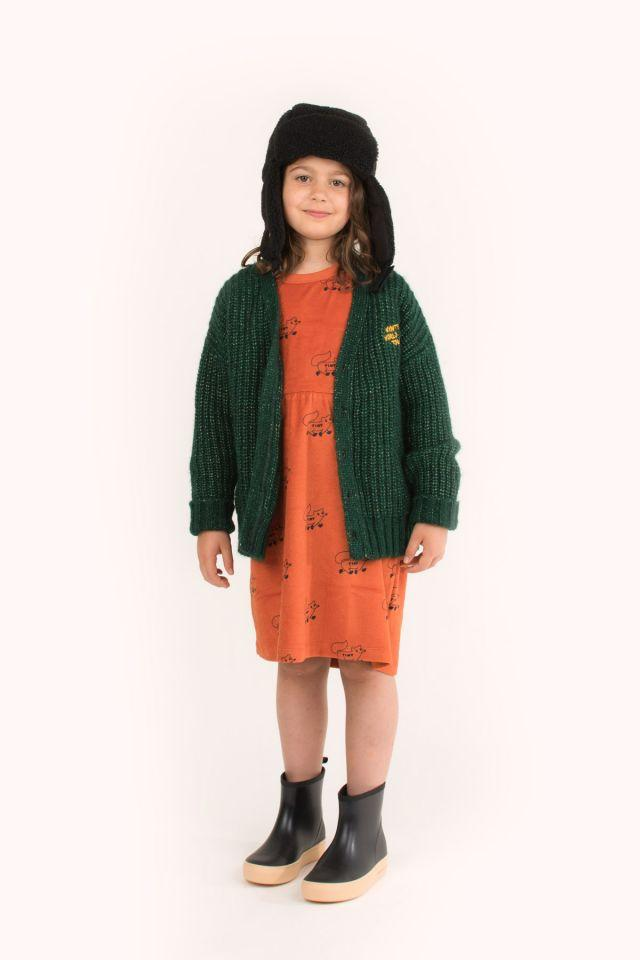 Tinnycottons Foxes Dress - Hyphen Kids