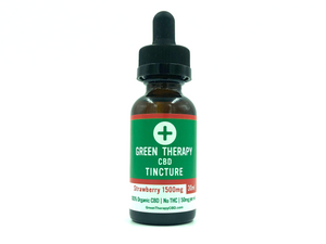 CBD Oil Tincture - Strawberry (100mg - 1500mg)