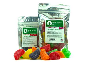 CBD Gummie Slices - Assorted  (100mg - 1000mg)