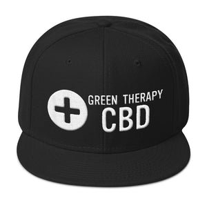 Green Therapy CBD Snapback Hat