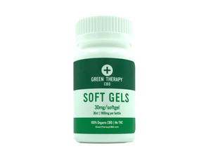 CBD Isolate Infused Softgels - 30 Count