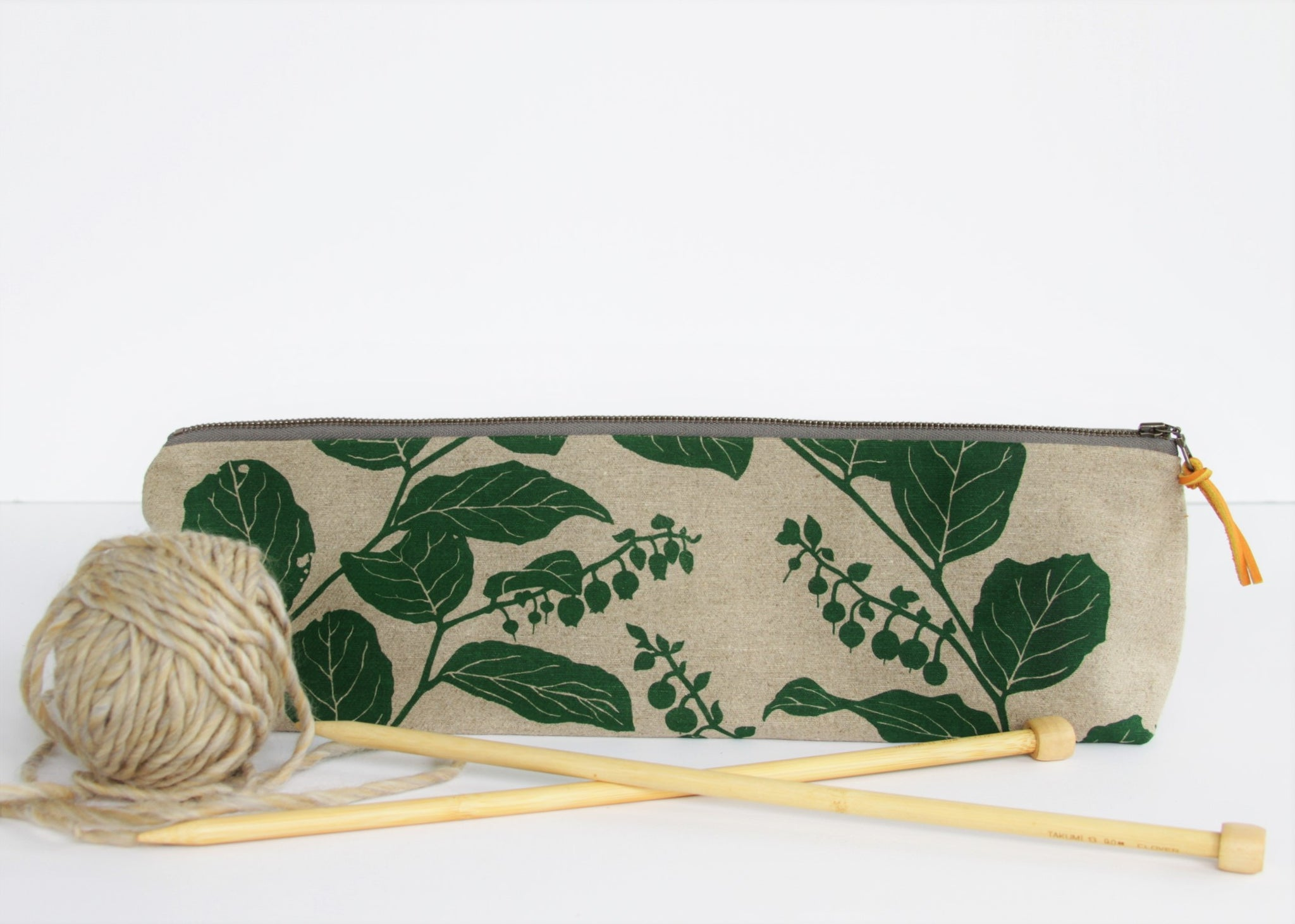 Knitting Needle Pouch - Salal