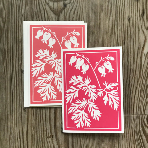 Bleeding Heart Notecards