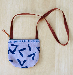 Small Samara Purse in Indigo