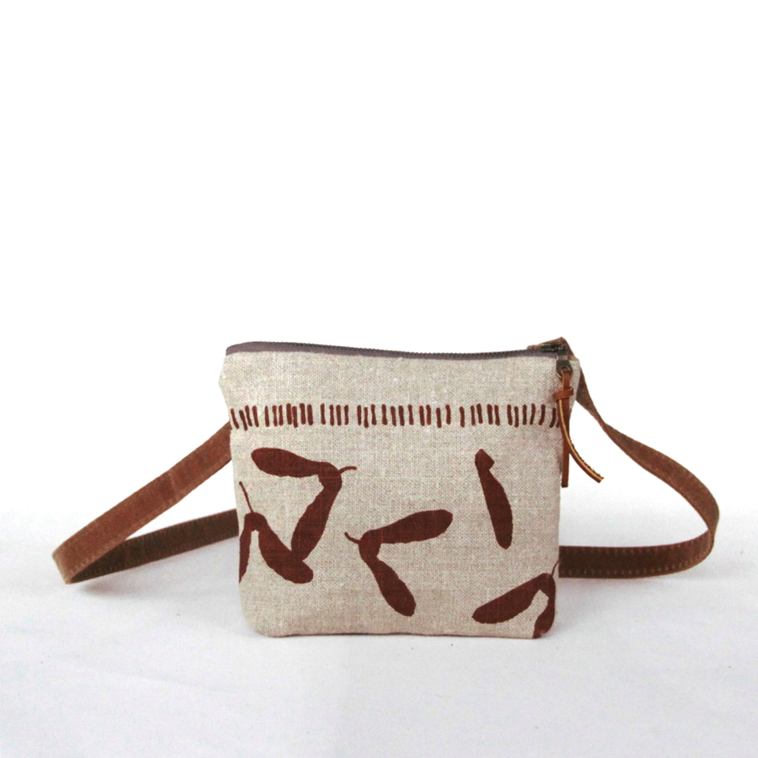 Small Samara Purse, Nut Brown