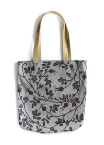 Unlined Tote Bag - Nootka in Storm