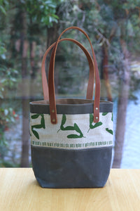 Medium Samara Tote with Leather Handles