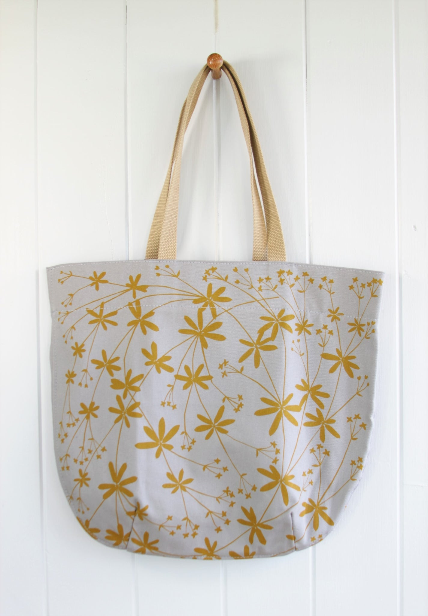 Market Bag - Bedstraw in Wheat