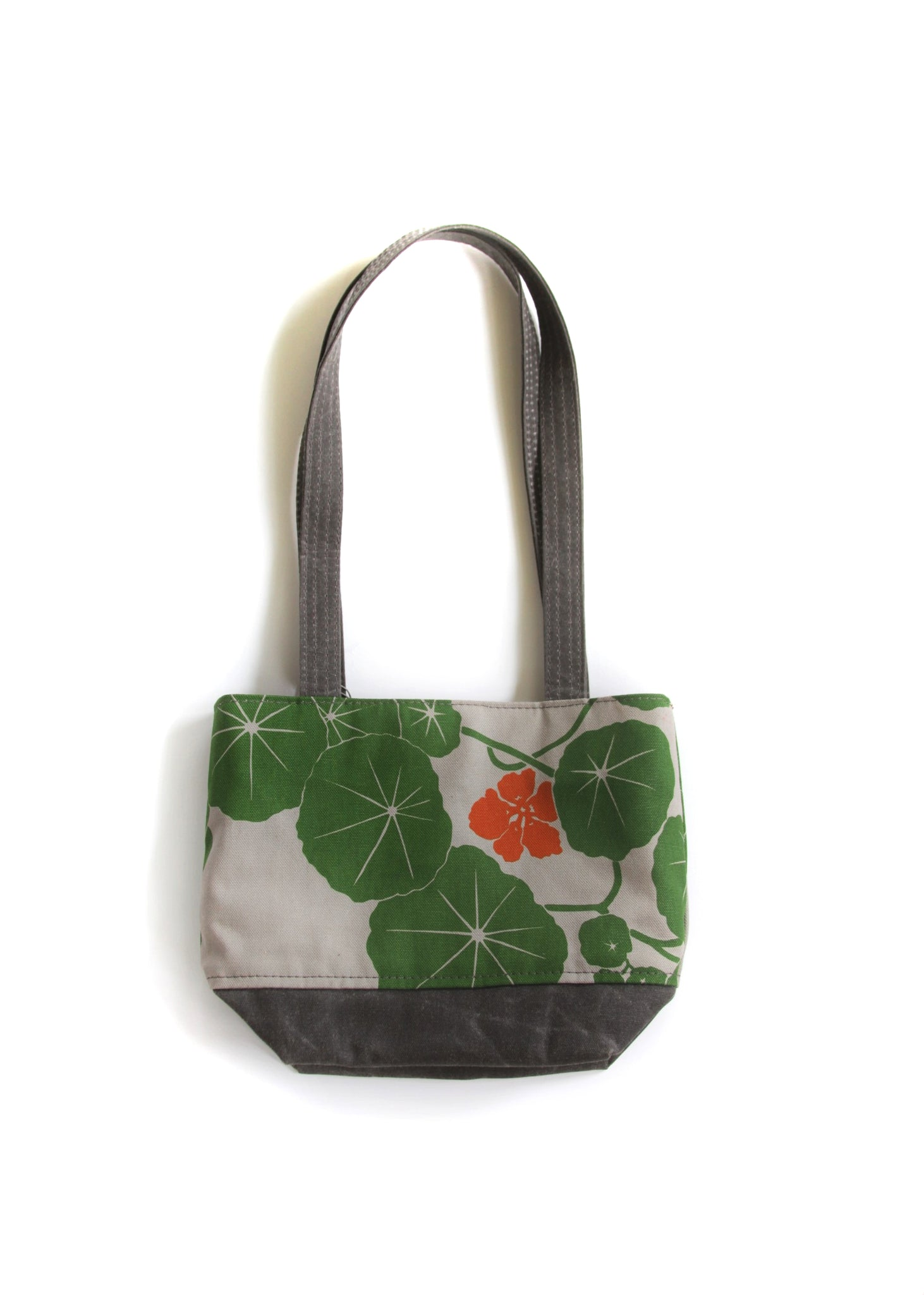 Small Open Top Tote - Nasturtium