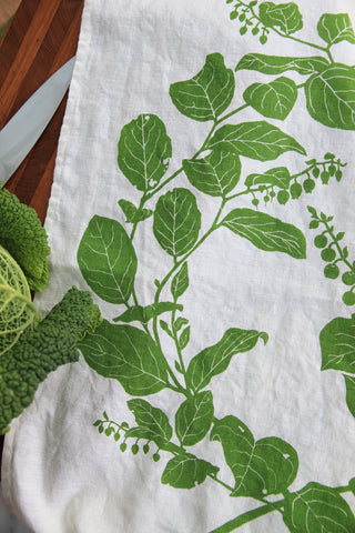 Salal Kitchen Towel in Leaf