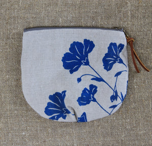 Small Flax Pouch