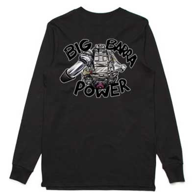 Big Barra Power long sleeve shirt grey