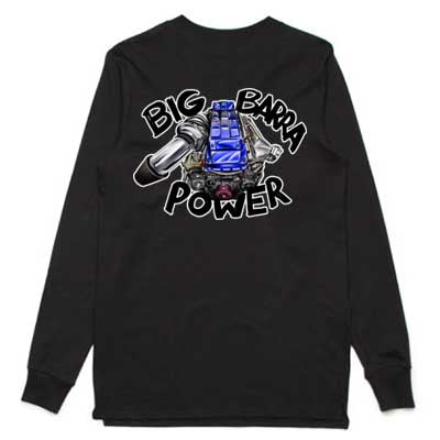 Big Barra Power long sleeve shirt blue