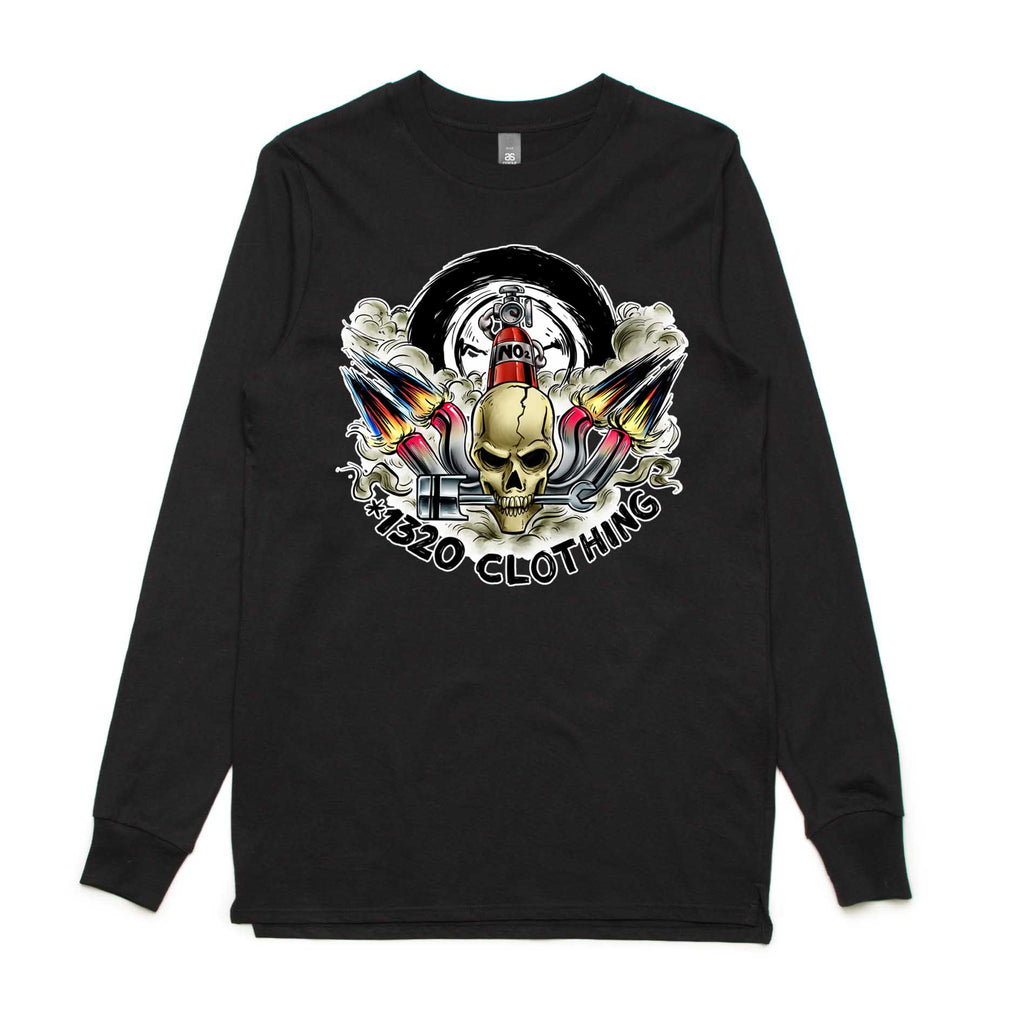 1320 Clothing skull logo
