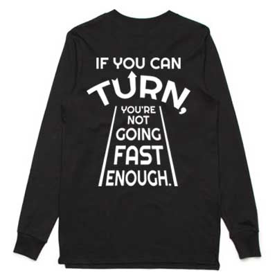 If you can turn long sleeve tshirt