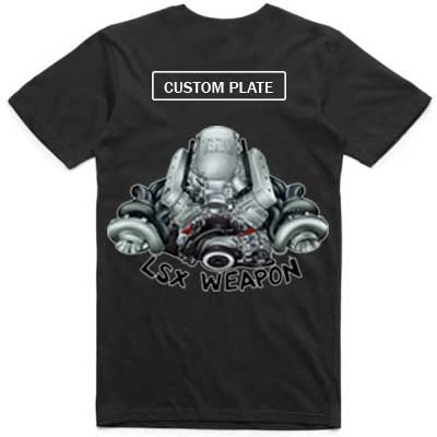Holden LSX Weapon adult tshirt