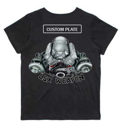 Holden LSX Weapon kids tshirt